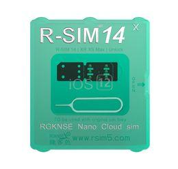Yeni Orijinal R-SIM14 Akıllı aktivasyon kilidini SIM Kilidini Kart iphone MAX XS 8 artı 7 6 S unlocked IOS12.X stokta nereden kutu kablosu kilidini aç tedarikçiler