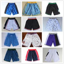 2019 scuola nera degli alti talloni Alta qualità ! 2020 Pantaloni della squadra di pallacanestro Shorts Shorts pantaloncini sportivi universitari Bianco Blu Rosso Viola Giallo Nero