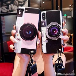 2019 iphone cases vintage disegni Custodia di design per fotocamera vintage di marca per iPhone XS Max XR X 8 7 6 Fashion Design sconti iphone cases vintage disegni