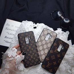 2019 ipad haut-parleur Cas de téléphone de concepteur de luxe pour Samsung Galaxy S8 S9 S9 S10 Plus S7 Note9 Note8 Couverture En Cuir Souple TPU Téléphone Cas