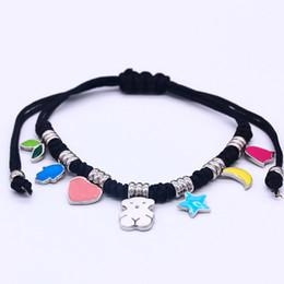 Отличные украшения онлайн-KE новый розовый и синий брелки кулон браслет Марка ювелирные изделия мода классический высокое качество милый отлично