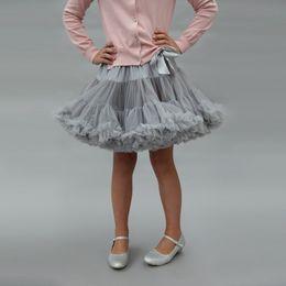 gonna blu marrone ragazza Sconti Baby Girl Tutu Dress Bow Soft Princess Princess Dress Designer Girl Gonna tinta unita Gonna a trapezio 48