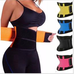 Barriga on-line-2019 perder peso Shapers Do Corpo Unisex Cintura Cincher Trimmer Tummy Cinto De Emagrecimento Látex Trainer Cintura Para Mulheres Dos Homens Corset Shapewear