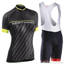 Велосипедный трикотаж женский комплект онлайн-NW Team 2019 Женщины Велоспорт Джерси UCI World Tour Велосипедные топы с коротким рукавом Нагрудники Брюки Комплекты Quick Dry MTB Велосипед спортивный костюм