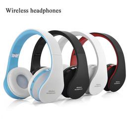 fones de ouvido chineses de qualidade Desconto NX-8252 Dobrável sem fio fone de ouvido bluetooth fone de ouvido fone de ouvido esportes correndo estéreo Bluetooth V3.0 + EDR com Frete Grátis DHL EAR337
