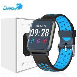 2019 gekrümmte android SN60 Plus Smart Uhrenarmband Smartwatch Gebogenes Glas Armband DIY Zifferblatt Sport Schrittzähler Pulsmesser Wettervorhersage Für Android günstig gekrümmte android