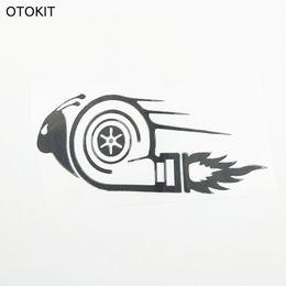 Etiquetas engomadas elegantes del coche DUB Drift Race Car Styling Turbo Snail Cool Anime calcomanías Car Styling Sticker para Toyota Bmw Skoda desde fabricantes