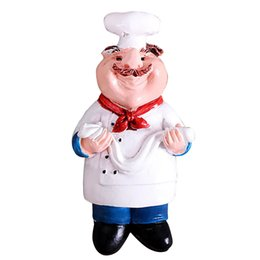 2019 украшения для шеф-повара Cute Travel Souvenir Chef Cook Accessories Mini Crafts Home Gift Portable 3D Resin Kitchen Decoration Wall Fridge Magnet Room дешево украшения для шеф-повара