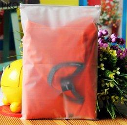 Argentina 30 unids Bolsa de almacenamiento de plástico para viajes Maquillaje de almacenamiento Bolsa de equipaje Zapatos de tela impermeable Zip Lock Organizador Bolsa Suministro