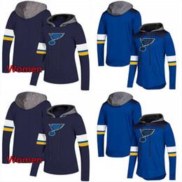 2019 sudaderas con capucha st louis St. Louis Blues AD Hoodies Jerseys Hombres / Mujeres Hockey azul Cualquier jugador o número Stitch Sewn Hoodies Jerseys Sudaderas rebajas sudaderas con capucha st louis