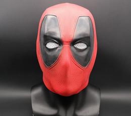 2019 pelucas de latex 2019 Halloween Prop regalo moda superhéroe deadpool novedad divertida máscara de látex adulto máscara pelucas de latex baratos