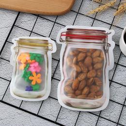 5 Adet / takım Depolama Fermuar Gıda Aperatif Stand Up Çanta Torbalar Zip Kilit Fermuar Çanta Gıda Sınıfı Plastik Saklama Torbaları Koku Geçirmez Klip nereden