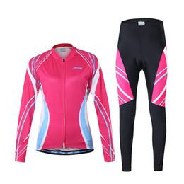 Abbigliamento da ciclismo Outdoor traspirante confortevole confortevole manica lunga ciclismo Set pantaloni imbottiti Pantaloni equitazione Sportswear Y3983P-S da maglia di pelli fornitori