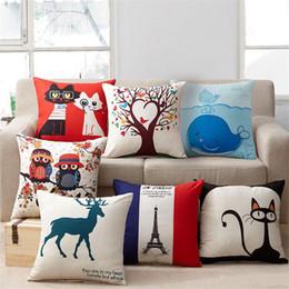 Disegni della decorazione della cucina online-16 Disegni 45 * 45cm Cuscino Oro Totem Cuscino Cuscino Camera da letto Cuscino Decorativo Decorazioni per la casa Accessori per la cucina Decorazione per feste per bambini