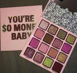 pacotes de maquiagem por atacado Desconto EPACK 2019 Coleção de Aniversário Você é $ o Dinheiro Baby 16 Colors Eyeshadow Matte and Shimmer Eye Shadow Makeup DHL Frete Grátis