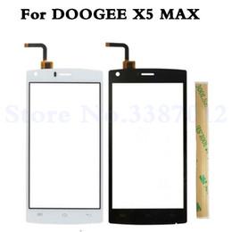 doogee x5 pro Desconto 5.0 polegada para doogee x5 max frente digitador da tela de toque de vidro peças de reposição originais para doogee x5 max / x5 max pro