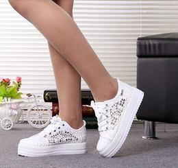 8e0ad0b0d837 2019 Scarpe da donna estive Ritagli casuali Scarpe di tela di pizzo Scarpe  basse piatte in tessuto traspirante floreale tyh78 scarpe di ritaglio  traspiranti ...