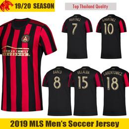 27c94ab2b 18 19 Atlanta United Soccer Jersey BARCO 2018 2019 LARENTOWICZ G.MARTINEZ Football  Shirt VILLALBA Atlanta United MARTINEZ Soccer Shirt man united football ...