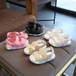 2019 sandales led enfants LED Enfants Sandales Kid Designer Chaussures Respirant Confortable Infant Garçons Et Filles Beach Sandal Toddler Chaussures Chaussures Pour Enfants sandales led enfants pas cher