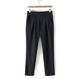43fca3c069b9 foot women summer pants Promo Codes - Summer Woman Large Size Thin Casual  Suit Loose Harem