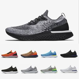 Voa ido on-line-NIKE EPIC REACT Flynit 2019 New Arrival React Instant Go Fly Lightweight men women running shoes causal mesh Breathable sports Athletic designer sneaker
