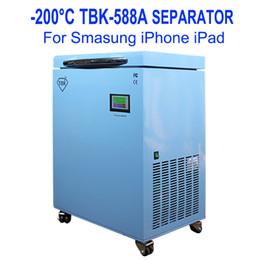máquina tbk Desconto TBK-588A mais novo Mass Professional Touch Screen -200C LCD Freezing Painel Congelado Separando Máquina LCD Separator Máquina para borda