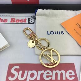 telaio della foto dell'anello chiave di metallo Sconti 2019 Portachiavi di lusso di alta qualità Keychain Cirle Fashion Car portachiavi in acciaio inox Designer per i regali