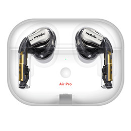 2019 Nova Arrivel AirPro AIR2 fones de ouvido sem fio Noise transporte Cancelamento Bluetooth Headphones Série Trabalho Número GPS Headsets Gota de Fornecedores de pedaço de ouvido bluetooth