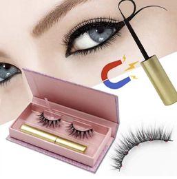 Deutschland 2019 New Magnetic Eyeliner Mit Magnetic Eyelashes Kit Langlebige Wasserdichte Falsche Wimpern Und Wimpern Applikator Versorgung