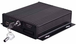 Grabadora de video 4 canales online-4CH 720P AHD SD tipo MDVR Mobile Digital Video Recorder