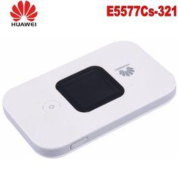 Hotspot móvel huawei on-line-Huawei E5577 4G LTE Cat4 e5577-3211500mAh Hotspot móvel Roteador sem fio wifi bolso mifi dongle PK e3276 e5776 e5577c e5573