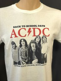 6dad534233a0 Design Concert T Shirt BaDesign to School Days Vintage Retro White Graphic  Band Tees