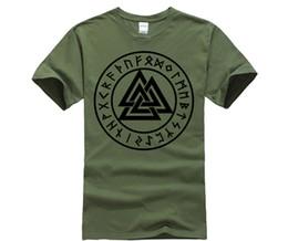 chemise vikings Promotion Wotan Mit Uns Vikings Casual T Shirt Hommes O Cou Jeunesse À Manches Courtes Col Vintage Graphique Tops Mâle Grande Taille