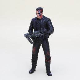 Anime The Terminator T -800 Arnold Schwarzenegger Pvc figura de acción de colección Modelo de juguete Tamaño en 7