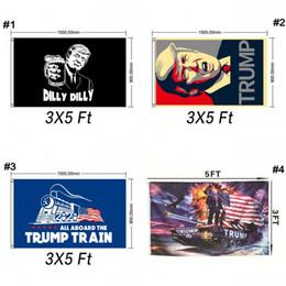 Trump Tanque Bandeiras 90 * 150 CM Decor Bandeira Trump Bandeira América Novamente para o Presidente EUA Donald Trump Bandeira Eleição Bandeira Bandeira de Donald Novo Q398 de