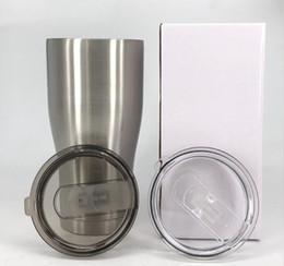 Canada Tasses à double paroi de taille de gobelets d'acier inoxydable de 30OZ pour des tasses isolées de bière de thé de café avec le couvercle gardent des boissons chaudes ou froides plus longtemps Offre