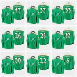 Discount hockey jersey philadelphia flyers - 2019 St. Patrick Custom  Philadelphia Flyers 28 Claude Giroux 36bf7e9b9