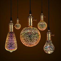 3D Lâmpada LED Edison Lâmpada Vintage Decoração E27 110 V 220 V LEVOU Filamento lâmpada Corda de Fio De Cobre Substituir Lâmpada incandescente de Fornecedores de substituindo lâmpadas incandescentes
