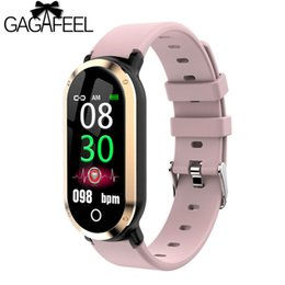 gold blood Coupons - GAGAFEEL T1 Smart Watch Heart Rate Monitor Blood Pressure Activity Fitness Tracker Women Men Smartwatch Ladies Wristwatch