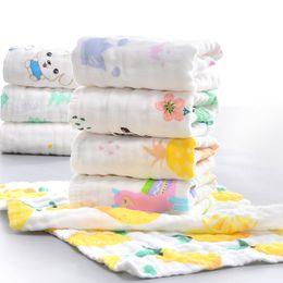 2019 erwachsene bärentuch 10Pcs / Lot 100% Baumwolle mit hohen Dichte Gaze Handtuch Kinder-Handtuch Kindern Gaze Babygesichtstuch 25x50 Mehrschicht
