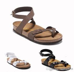 00d81560d Birkenstock Zurique 823 Athen Hot vender verão Mulheres apartamentos sandálias  chinelos de cortiça unisex sapatos casuais impressão cores misturadas  tamanho ...
