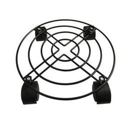 2019 подставка для ванны Утюг перемещение лоток деревянный баррель стойки ног ванна универсальный колесо перемещение горшок стенд металлический лоток газовый баллон стенд без тормозов LJJR183 скидка подставка для ванны