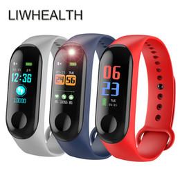 Smartwatch для дешевых онлайн-Дешевые Bluetooth Смарт Часы Плавать Ip68 Hr / bp / spo2 Health Tracker Montre Connect Подходит Для Ios / xiaomi / lenovo Мужчины / женщины Smartwatch L3 J190515