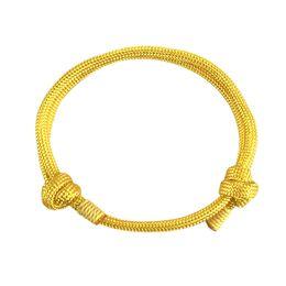 Corda del marinaio online-Elegante leggero Yachting Wristband semplice fai da te di usura resistente corda regolabile braccialetto intrecciato Sailor regalo Passione nautico