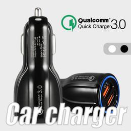6A Hızlı Şarj Araç Şarj 5 V Çift USB Hızlı Şarj Adaptörü iphone Samsung Huawei Metro telefonları için Ambalaj olmadan nereden