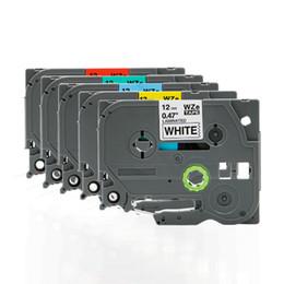 2019 formatador hp FGHGF aplicável para irmãos PT-E100 impressora máquina etiqueta da fita de 12 mm 9 18 24 36 PT-E100B D210 impressão em fita de etiqueta de papel
