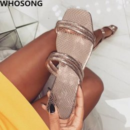 factory shoes sandals Promo Codes - Factory direct 2019 new flip flop golden candy color suede comfortable summer women's shoes fashion flat sandals  slippers