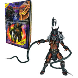 Clan giocattoli online-vendita all'ingrosso Predator Kenner Leader Clan capo Action Figure Collection Model Toy Regali di Natale