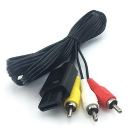 1.8M TV S-Vidéo Câble AV Pour RCA Pour Super Nintendo N64 SNES Console de Jeu Vidéo Câbles Audio Adaptateur ? partir de fabricateur