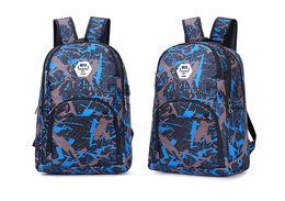 Melhor ao ar livre sacos de viagem camuflagem mochila computador bag cadeia Oxford Brake ensino médio saco estudante muitas cores de